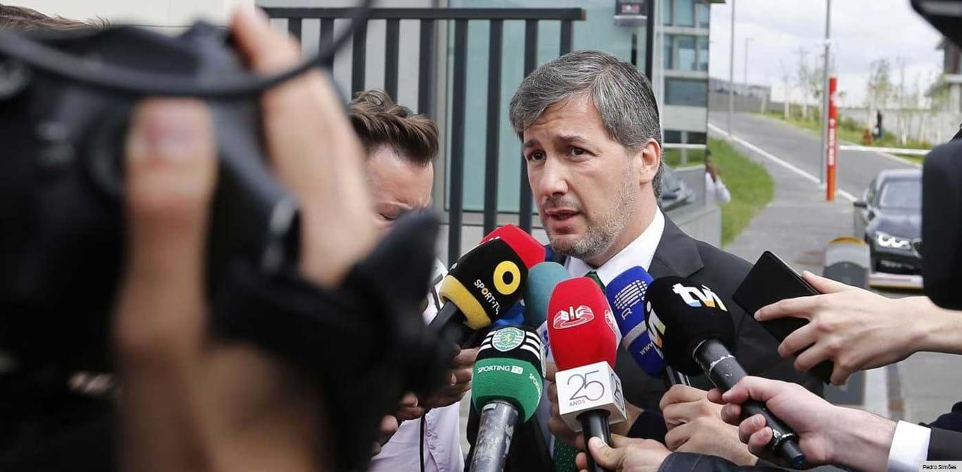 Bruno de Carvalho: «Vieira? Não quero ser eu a pagar as dívidas ao Novo Banco»