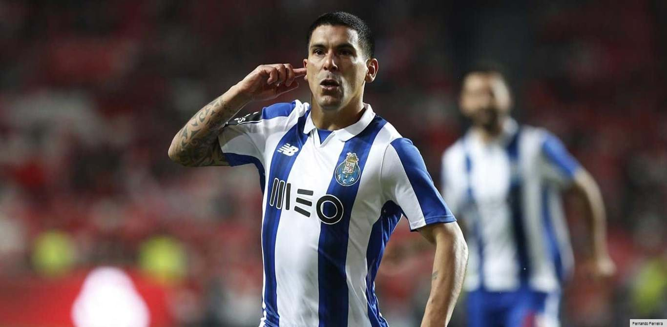 Maxi Pereira explica festejos na Luz que tanto irritaram os adeptos do Benfica