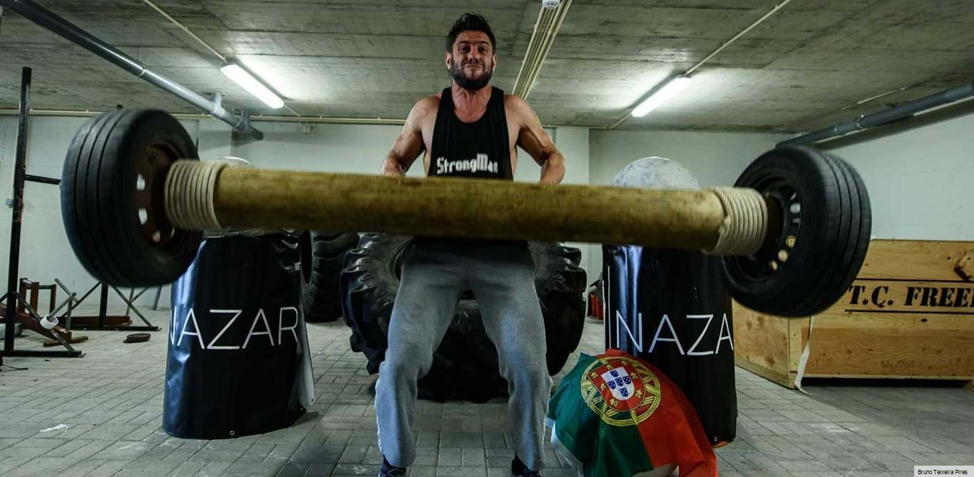 Strongman: Fábio Maranhão mostra a sua raça
