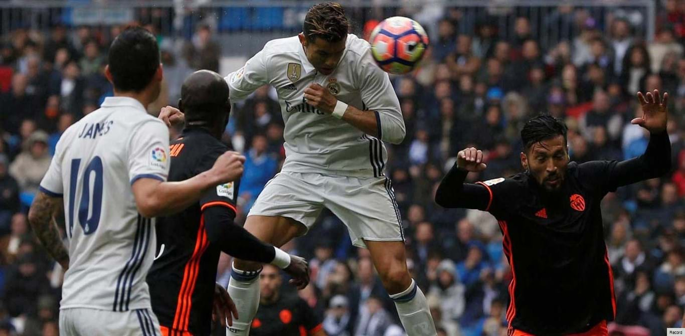 Real Madrid-Valencia, 1-0 (2.ª parte)