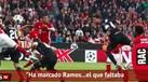 Catalães 'aziados' com golo de Sergio Ramos... que não contou