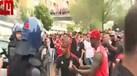 Incidentes entre adeptos do Benfica na saída da Luz