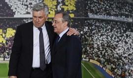 Carlo Ancelotti nega pressões  de Florentino