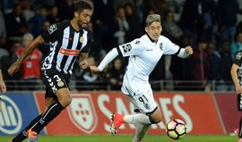 A crónica do Nacional-V. Guimarães, 1-2: Segunda linha acabou a sofrer