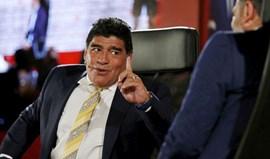 Maradona não gostou da brincadeira do PES e vai avançar com processo (e não é mentira)
