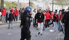 PSP diz que Corpo de Intervenção foi agredido com bolas de golfe e garrafas