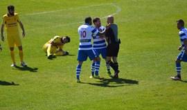 Novas imagens da agressão ao árbitro no Rio Tinto-Canelas