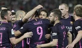Barça goleia em Granada depois de pequeno susto