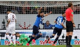 Bayern derrotado no regresso de Renato Sanches à titularidade