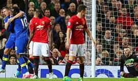 Penálti de Ibrahimovic evita derrota do United aos 90'+4