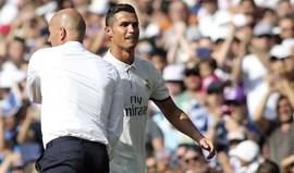 Zidane dá o dito por não dito e deixa Ronaldo fora da convocatória
