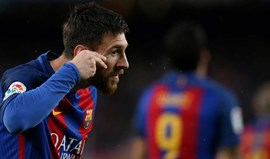 Bis de Messi na vitória do Barcelona ante o Sevilha