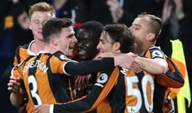 Hull City vence e deixa zona de despromoção