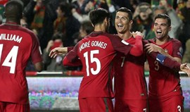 Portugal mantém o oitavo lugar no ranking FIFA