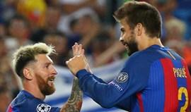 Mulheres de Piqué e Messi em 'guerra' por causa de um... chouriço assado