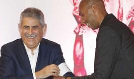 A primeira vez que Vieira viu Luisão era... presidente do Alverca
