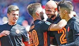 Bis de Zaza na vitória do Valencia frente ao Granada (1-3)