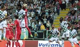 O resumo do Moreirense-Benfica (0-1): Mitroglou deu os três pontos