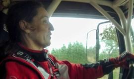Elisabete Jacinto testa novo camião MAN TGS em Marrocos