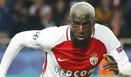 Sidibé e Bakayoko são baixas de peso no Monaco