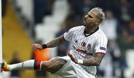 Quaresma vai falhar jogo do Besiktas em Lyon