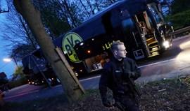 Polícia ficou ferido nas explosões junto ao autocarro do Borussia Dortmund