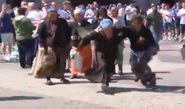 Adeptos do Leicester humilharam mendigos em Madrid