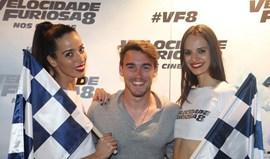 André Horta foi ao cinema ver 'Velocidade Furiosa 8'