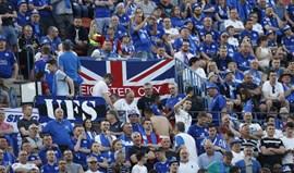 Oito adeptos do Leicester condenados a quatro meses de prisão em Madrid