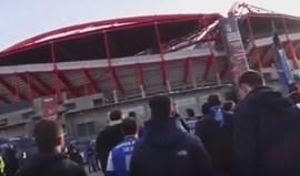Adeptos do FC Porto também entoaram cânticos sobre Chapecoense e Benfica antes do clássico na Luz
