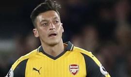 Özil sobre as críticas: «Sou assim e não vou mudar»