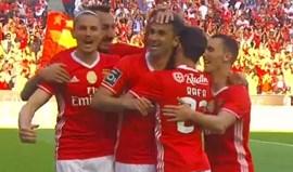 Vídeo: os melhores momentos do Benfica-Marítimo