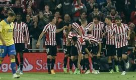 Athletic Bilbao goleia (5-1) com Muniain e Aduriz em foco