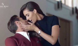 Romance entreCelia Jaunat e Krychowiak 'salta' para a publicidade