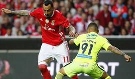 Factos e números do Benfica-Marítimo