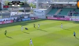 Marcelo marcou na própria baliza e colocou Tondela em vantagem