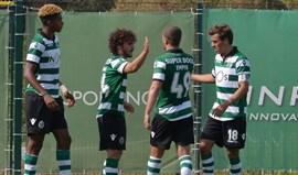 Sporting B-União da Madeira, 2-0: Leões regressam às vitórias