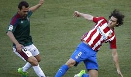 Tiago de regresso na vitória do At. Madrid