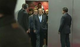 Pinto da Costa e Nuno cruzaram-se no elevador e não se falaram