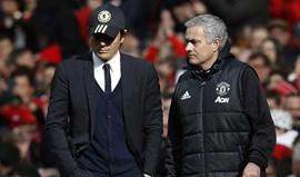 Desta vez, Mourinho e Conte 'portaram-se bem'