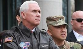 Mike Pence avisa Pyongyang para não testar determinação de Donald Trump