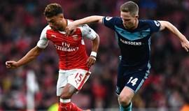 Arsenal vence no terreno do Middlesbrough