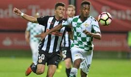 A crónica do Nacional-Moreirense, 0-1: Teia de Petit gelou Choupana