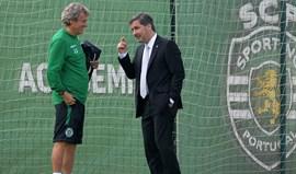 Motivação em alta e Bruno de Carvalho muito perto da equipa