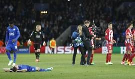 At. Madrid coloca ponto final no conto de fadas do Leicester