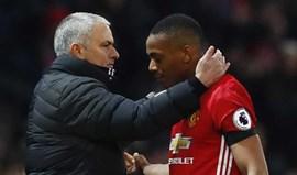 Mourinho dá novo 'puxão de orelhas' a Martial