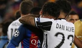 As lágrimas de Neymar: Até pelos jogadores da Juventus foi consolado