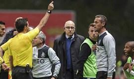 Quarto árbitro do Sp. Braga-FC Porto vai ficar parado