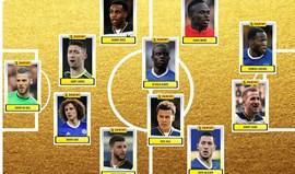Chelsea e Tottenham lideram onze do ano da Premier League