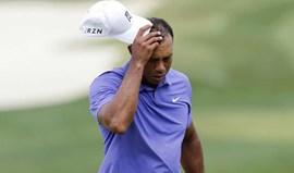Tiger Woods foi operado às costas e falha o resto da época